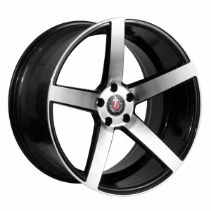 CJL-LEISURE AVE EX18 Black Polished 19 inch alloy wheel
