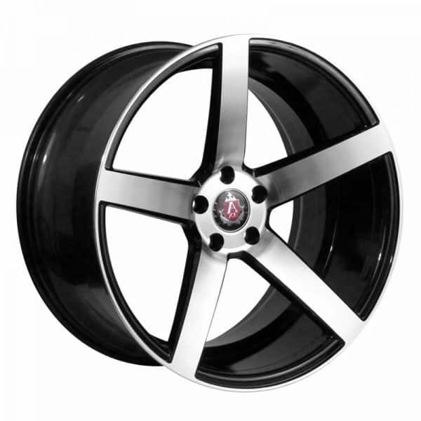CJL-LEISURE AVE EX18 Black Polished 19 inch alloy wheel