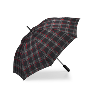 CJL-LEISURE-VW-GTI-Walking Stick Umbrella CLARK PRINT
