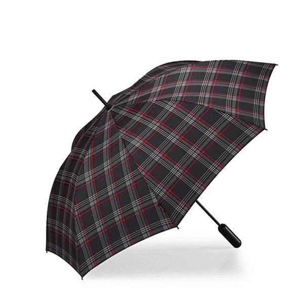 CJL-LEISURE-VW-GTI-Walking Stick Umbrella CLARK PRINT