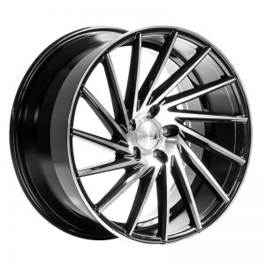 CJL Leisure 1AV ZX1 Black Polished 19 Inch Alloy Wheel