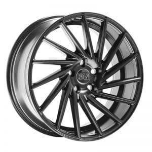 CJL Leisure 1AV ZX1 Satin Black 19 inch alloy wheel