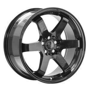 CJL Leisure 1AV ZX6 Gloss Black 18 Inch alloy wheel