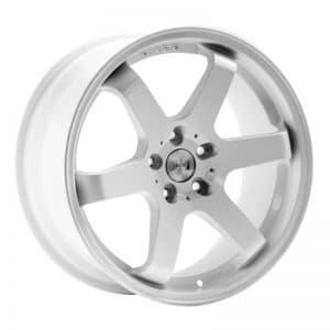 CJL Leisure 1AV ZX6 Gloss White 18inch Alloy Wheels