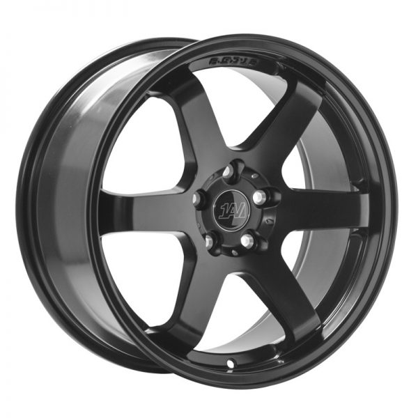 "CJL Leisure 1AV ZX6 Satin Black 18"" Alloy Wheel"