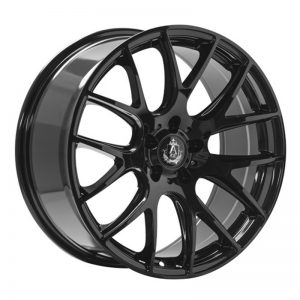 CJL Leisure AXE CS Lite Gloss Black 20inch Alloy Wheel