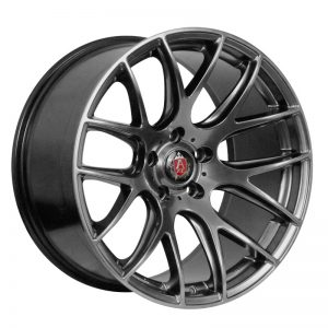 CJL Leisure AXE CS Lite Hyper Black 19inch Alloy Wheel