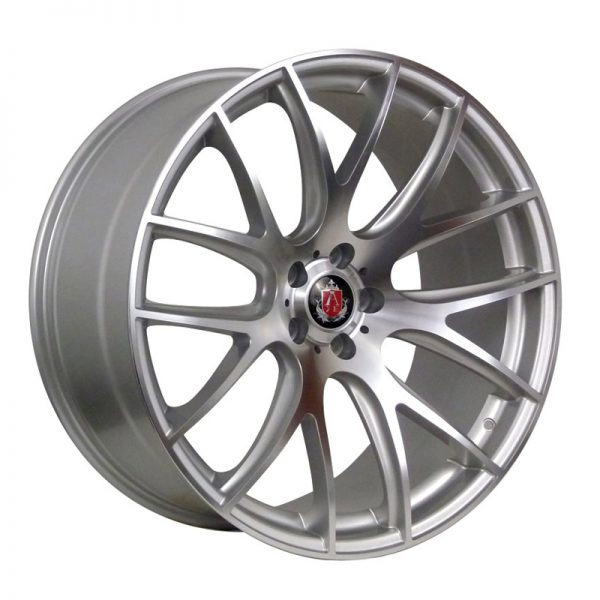 CJL Leisure AXE CS Lite Hyper Silver 19-inch Alloy Wheel