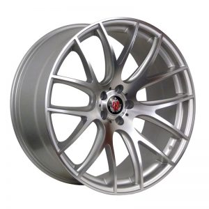CJL Leisure AXE CS Lite Hyper Silver 20-inch Alloy Wheel