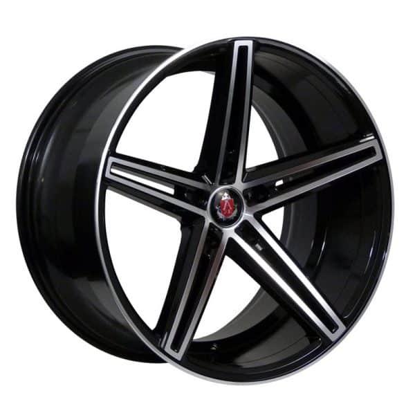 CJL Leisure AXE EX14 Black Polished 19 inch alloy wheels