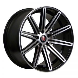 CJL-Leisure AXE EX15 Black Polished 19 inch alloy wheels