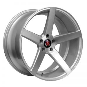 CJL Leisure AXE EX18 Silver Polished 19 inch alloy wheels