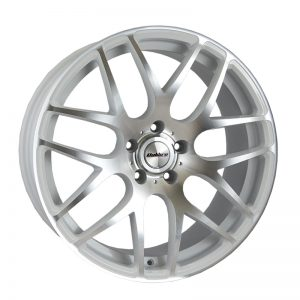 CJL Leisure Calibre Exile-R White Polished Face 18inch alloy wheel