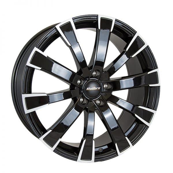 CJL Leisure Calibre Manhattan Black Polished 20-inch alloy wheel