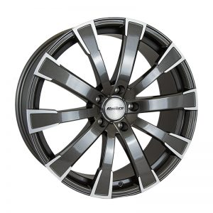 CJL Leisure Calibre Manhattan Black Polished 20-inch alloy wheel