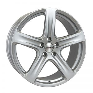 CJL Leisure Calibre Tourer Silver 20-inch Alloy Wheel