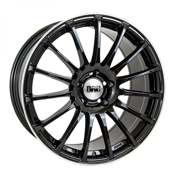 CJL Leisure DRC Rapide Gloss Black Polished 18inch alloy t5 and t6 wheel