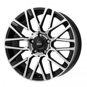 CJL Leisure Momo Revenge Evo Black Polished 19-inch Alloy Wheel