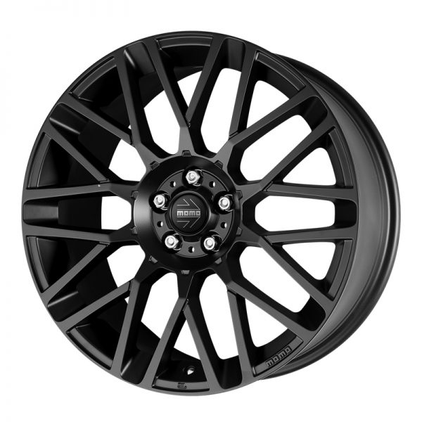 CJL Leisure Momo Revenge Matt Black 20-inch Alloy Wheel