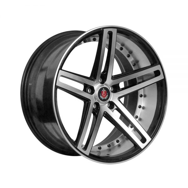 CJL Leisure axe ex20 20 inch black polished alloy wheels