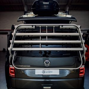 Genuine VW T6 tailgate bike rack