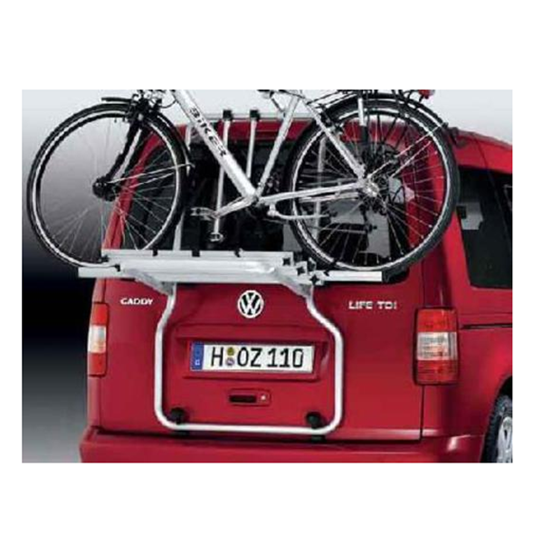 cjl-leisure-vehicles-VW-Tailgate-Bicycle Carrier-Caddy-van-exterior-load