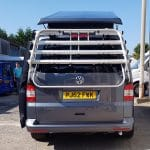VW T5 bike rack in silver