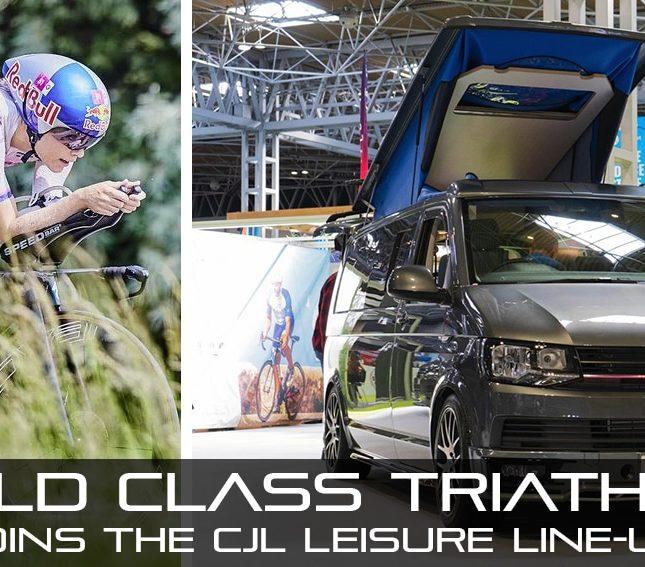 CJL Leisure bike vans sponsors pro triathlete lucy charles