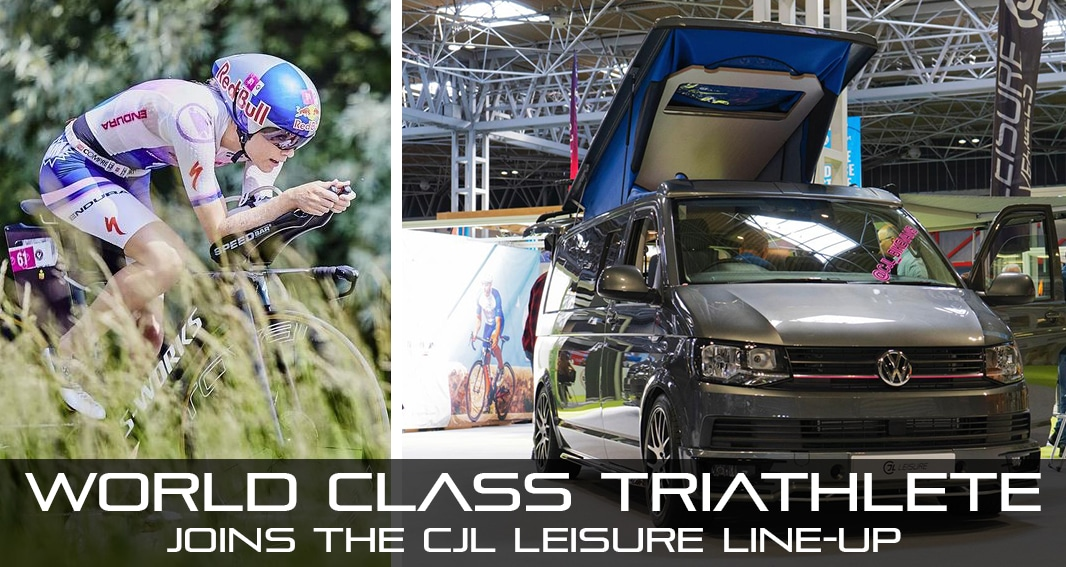 CJL Leisure bike vans sponsors pro triathlete lucy charles