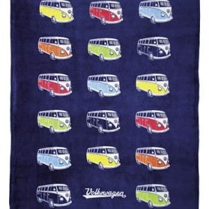 VW T1 bus fleece blanket